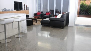 Know About the Innovative Concept of Polished Concrete Furniture