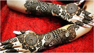 Splendid Mehandi Designs That Compliments Bridal Wear